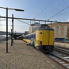Perron station Groningen